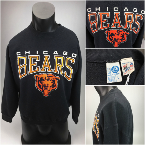 hot sale online 81874 04a57 Vintage Chicago Bears Artex Sweater Large G12-2-2